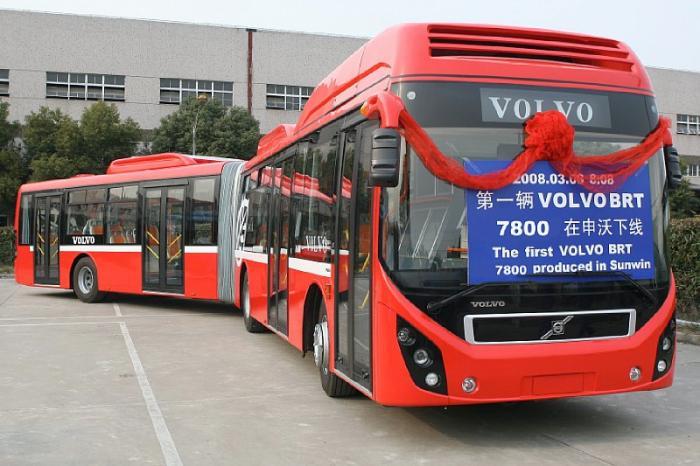 Volvo 7800 - метро на колесах