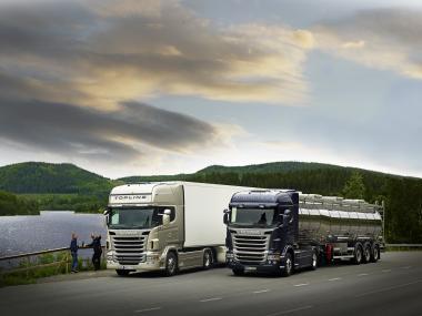 Scania новой R-серии завоевала титул Truck of the Year 2010