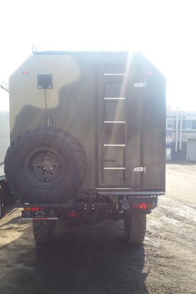 РусАвтоГид представляет машину для охоты и рыбалки на шасси ГАЗ 33081 Садко