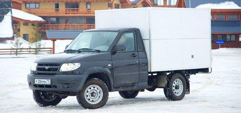 UAZ Patriot стал грузовиком