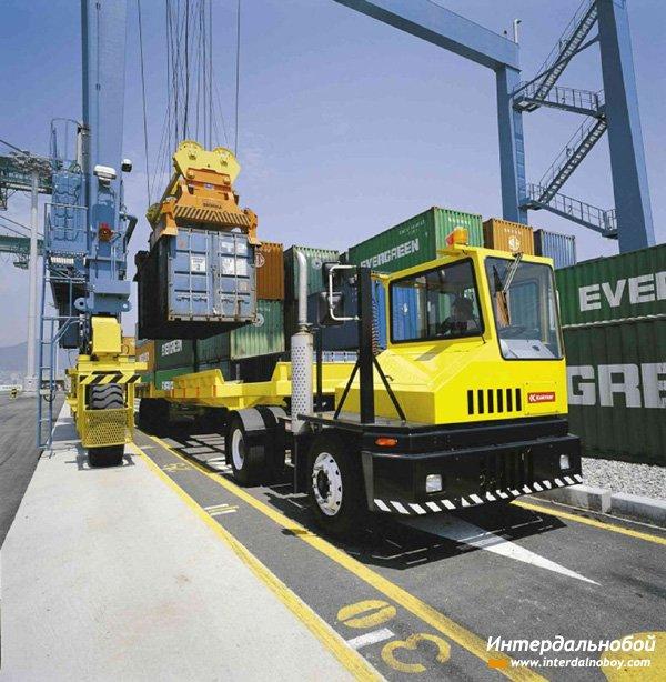 НКК оборудует свои терминалы тягачами нового поколения