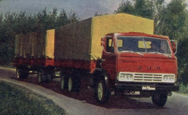 История КАМАЗ 5320