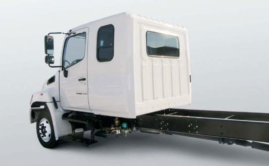 Hino меняет кабину опционная кабина!