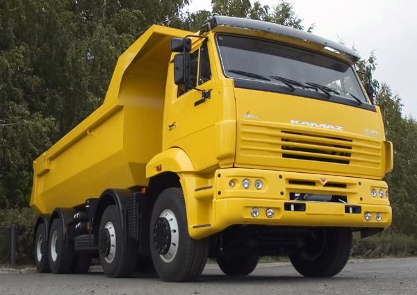 КАМАЗ-65201 нашел покупателей в Сербии