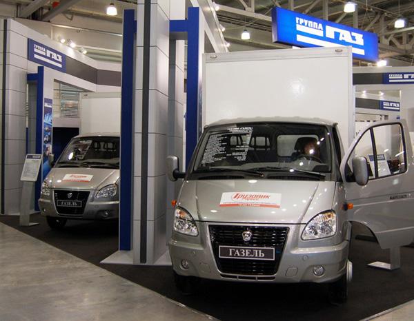 «ГАЗель» признана народным коммерческим автомобилем России