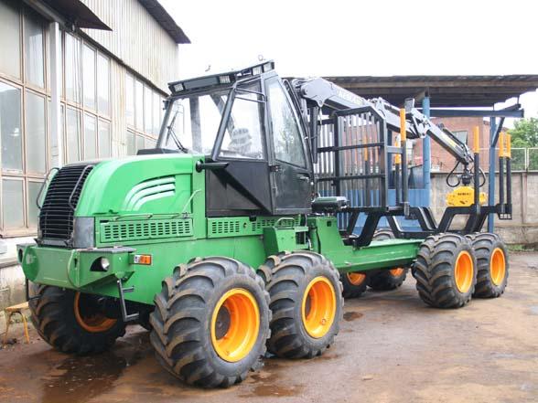 Форвардер Амкодор 2681- новое дополнение к линейке лесных машин