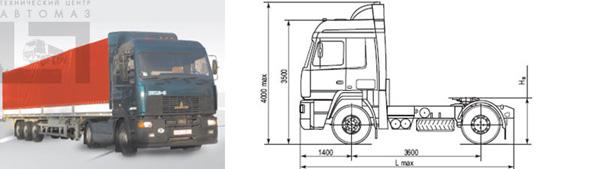 Минский автозавод начнет серийное производство нового седельного тягача МАЗ 5440А9 с двигателем ЯМЗ-650
