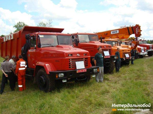 «КрАЗ» принял участие в противопожарных учениях МЧС Украины