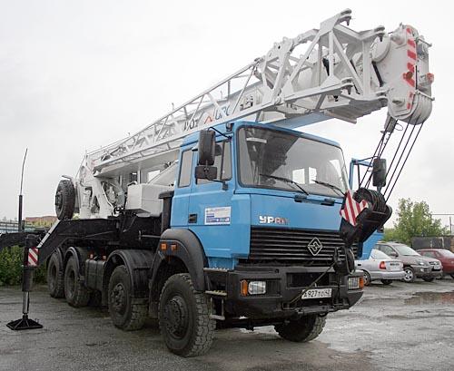 «Группа ГАЗ» создала новый 40-тонный автокран
