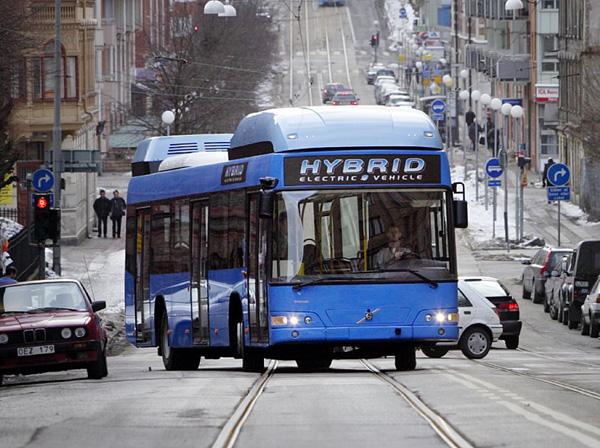 Новые стандарты экологии диктует Volvo 7700 Hybrid