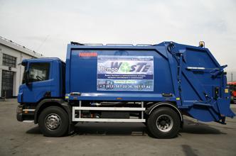 Поставка первого мусоровоза Scania