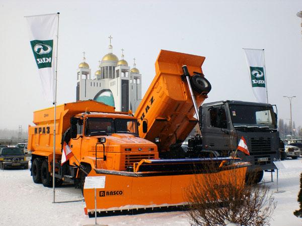 «АвтоКрАЗ» представил автомобили на выставке «CON MAC»
