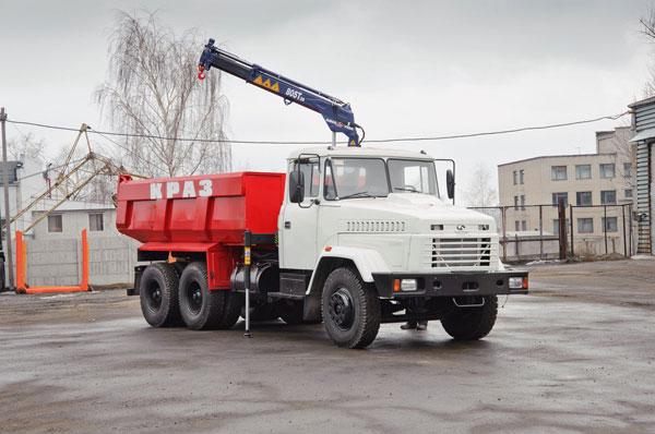 Универсальный автомобиль-самосвал КрАЗ-65055 для Полтавского ГОКа