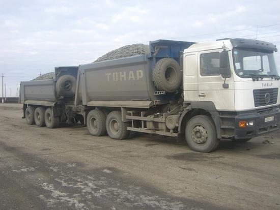 Автомобили-самосвалы Тонар-6528 уже в работе
