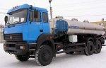 Первая автоцистерна для перевозки пищевых жидкостей на базе «Урал–63685»