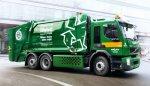 В Швеции начнет работу первый в мире гибридный мусоровоз Volvo FE Hybrid
