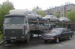 Автовозы выгоняют из Торфяновки
