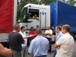 Автоперевізники розпочали нову акцію протесту. Перший день (ФОТО)