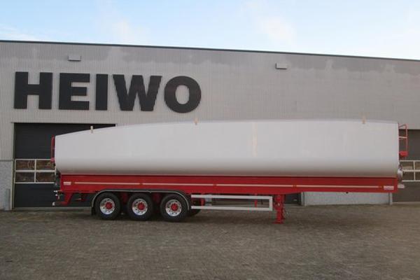 Новый сверхлегкий самосвальный полуприцеп AERO