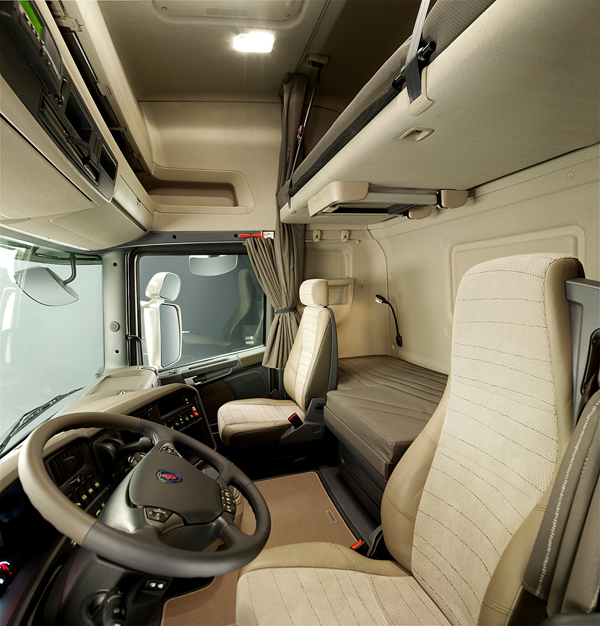 Как создавался интерьер кабин Scania