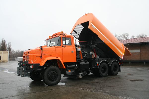 Создан очередной новый комбинированный автомобиль  КрАЗ-63221 «Дорожник» для ООН