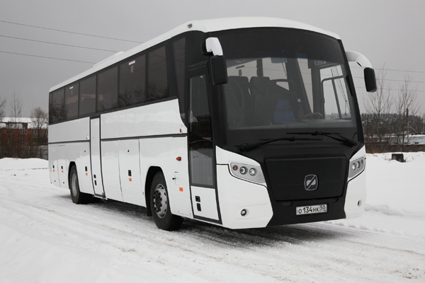 Новый автобусы от Группы Газ для Олимпиады 2014