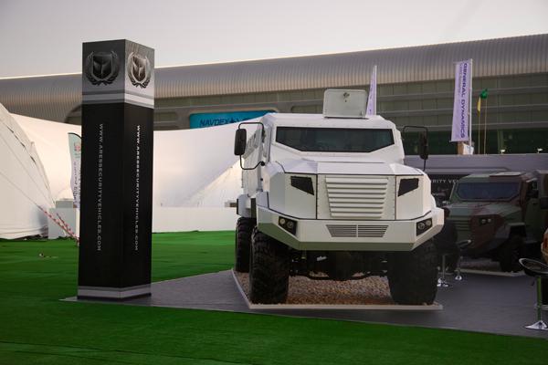 Бронеавтомобиль KRAZ-ASV Panther пополнит арсенал оборонительных и миротворческих ведомств многих стран мира