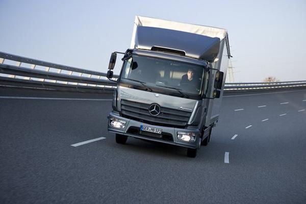 Это новый Mercedes-Benz Atego!