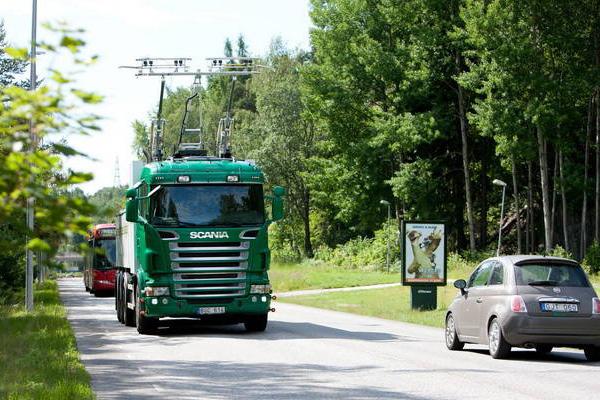 Электрогрузовики Scania и Siemens