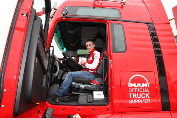 Грузовики MAN будут перевозить мотоциклы комманды  Ducati MotoGP