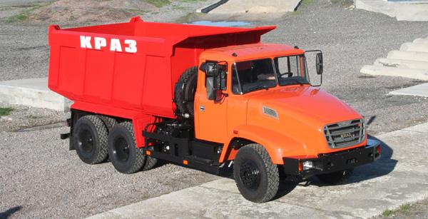 КрАЗы нового поколения отправляются в Россию