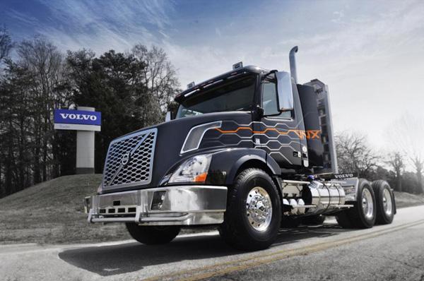 Сверхтяжелый грузовик Volvo VNX, 600 л.с.
