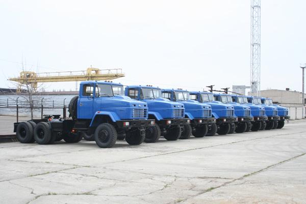 Краз отгрузил тяжеловозы на Казахстан
