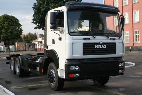 КРАЗ создал усовершенствованное шасси под зерновозы