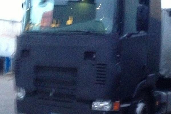 Новая Scania была замечена закамуфлированной в Швеции