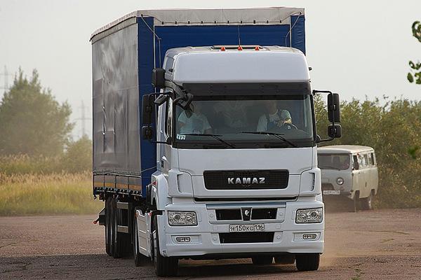 Новый боец-магистрал КАМАЗ-5490 выходит в серию