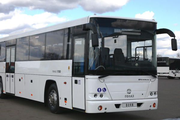 ГОЛАЗ-5251 «Вояж» стал автобусом года на Comtrans 2013