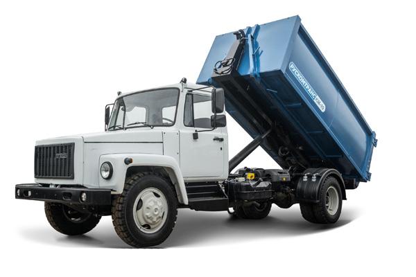 ГАЗ представил новую модель спецтехники на базе среднетоннажного автомобиля