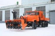 Роторный снегоочичтитель КРАЗ