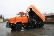 Создан очередной новый комбинированный автомобиль  КрАЗ-63221 «Дорожник» дл ...