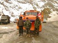 АвтоКрАЗ завершил поставку первой партии снегоуборочной техники в Афганиста ...