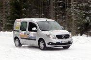 Автомобили Mercedes-Benz Citan, Vito и Sprinter успешно прошли зимние испыт ...