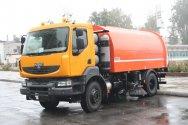Коммунальный КРАЗ на газовом двигателе