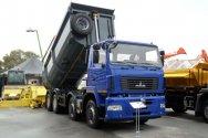 Самосвал МАЗ-6516W8-420-000 показали в Болгарии