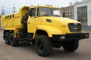 Самосвалы и тягачи КрАЗ отгружены на Россию
