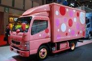 Fuso Canter Eco Hybrid - грузовик для женщин