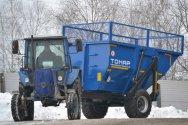 Новый 1-осный самосвальный прицеп ТОНАР ПТС-9