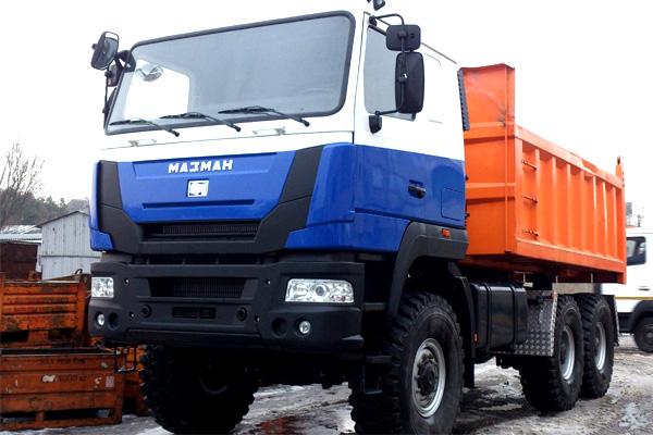 Полноприводный тягач МАЗ-МАN-646539 вышел в серию