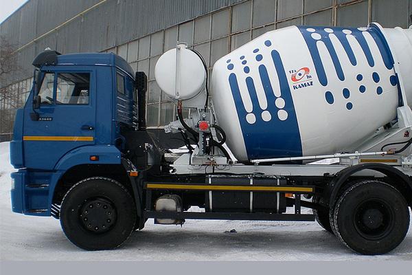 АБС 58145W дополнил линейку бетоносмесителей