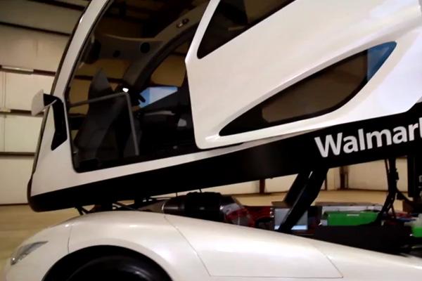 Грузовик будущего WalMart на базе Peterbilt
